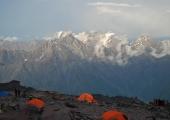 Гледка от лагера