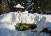 Занимание по лавинна безопасност за планински водачи