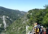 Асеновата крепост от другата страна на долината