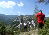 Гледка към Хайдушки камък и Караджов камък