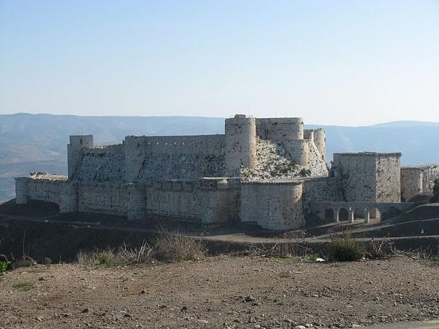 Замъкът Крак де Шевалие в Сирия
