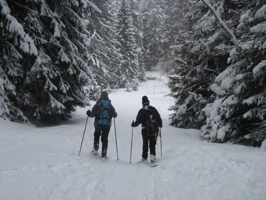Преход със снегоходки в Рила