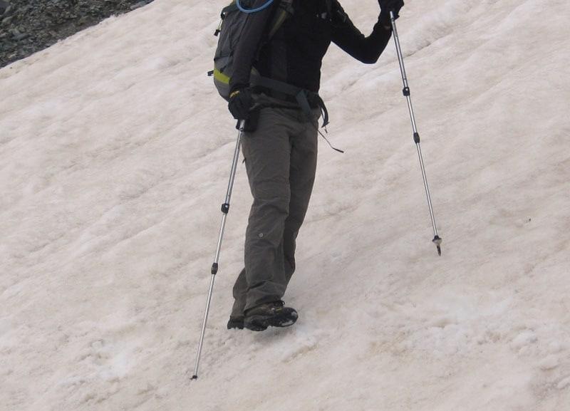 Подсичане на стръмен склон