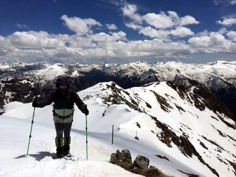 Snowshoeing Musala