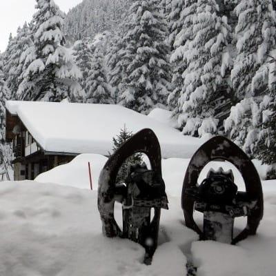 Snowshoeing Rila