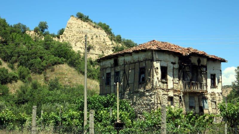 An old house near Melnik