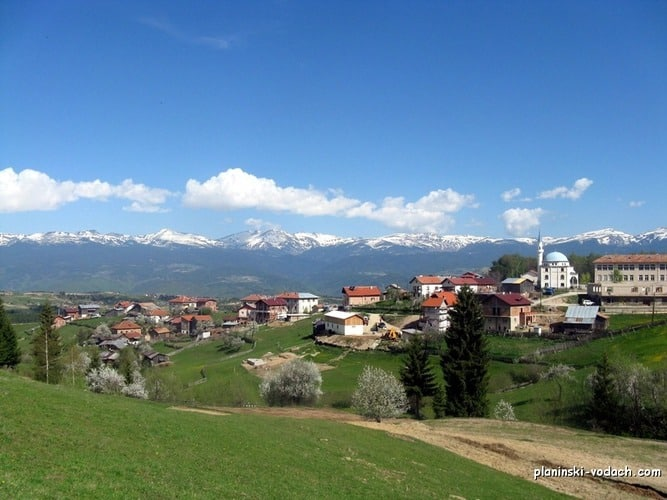 Bel Kamen Village in Rhodopes