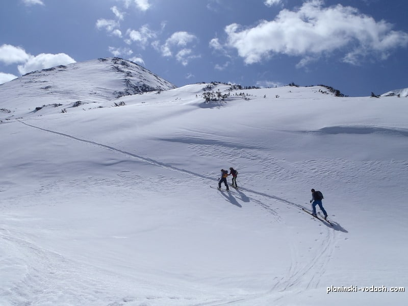 Ski touring in Bulgaria