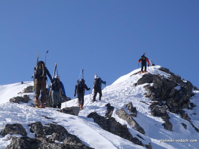 Backcountry Skiing in Bulgaria