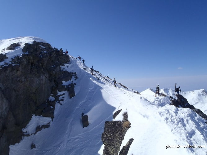 Climbing Mount Todorka in Pirin Mountains