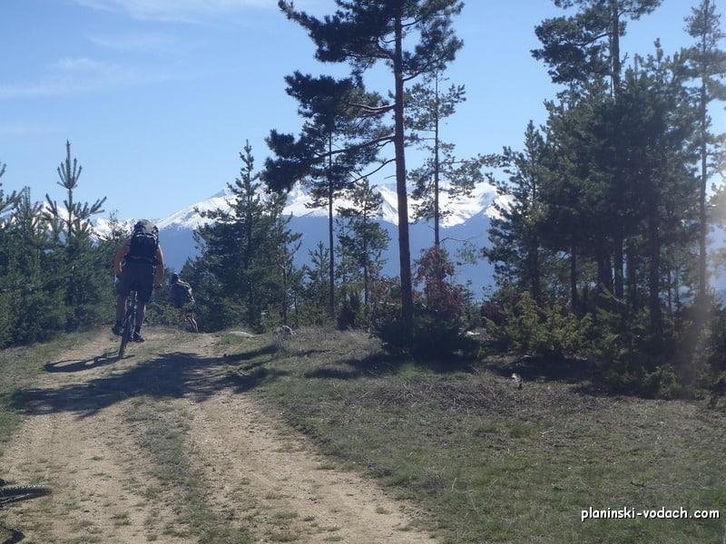 С велосипеди в Южна Рила