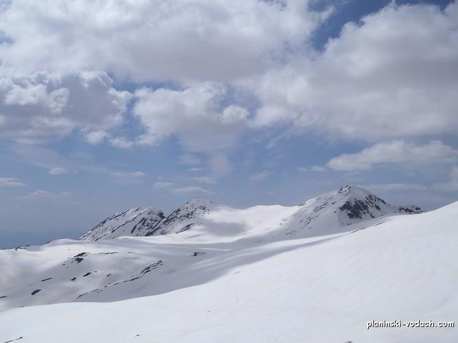 Tevno Lake Shelter in Pirin Mountains