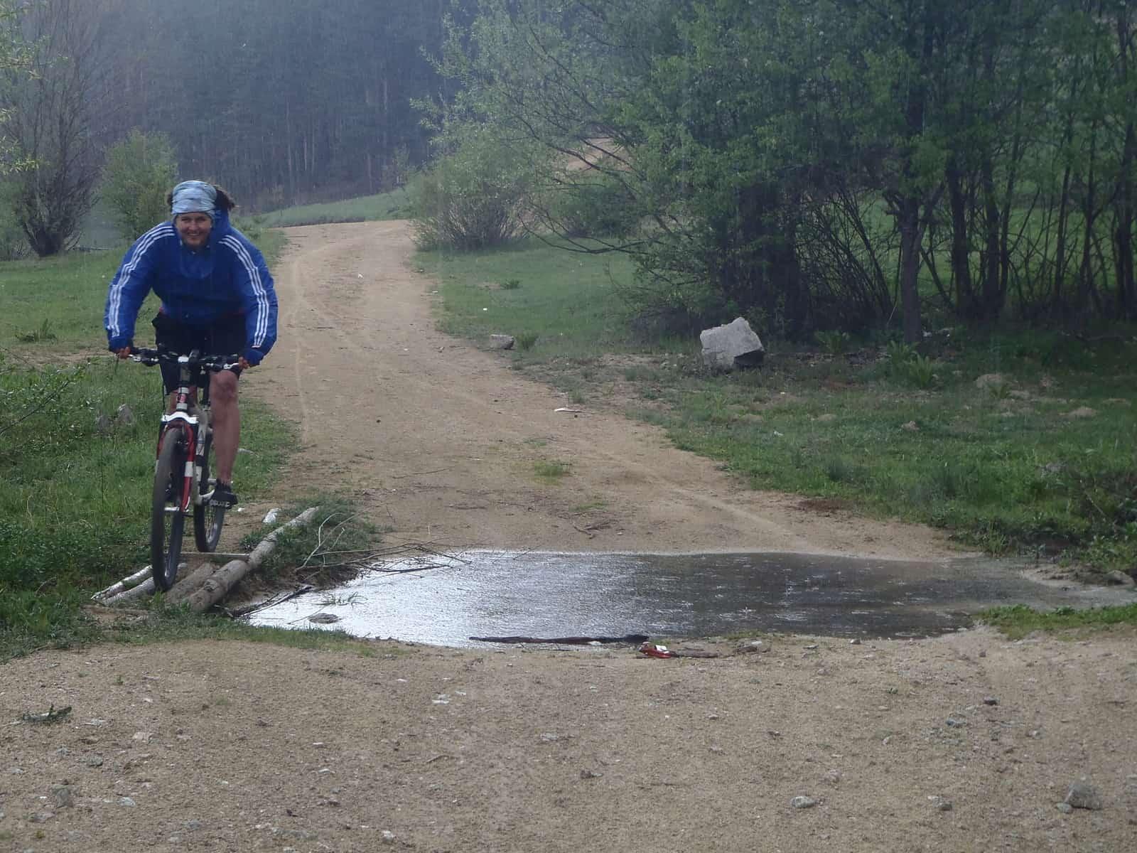 Spring Mountain Biking in Rhodope Mountains