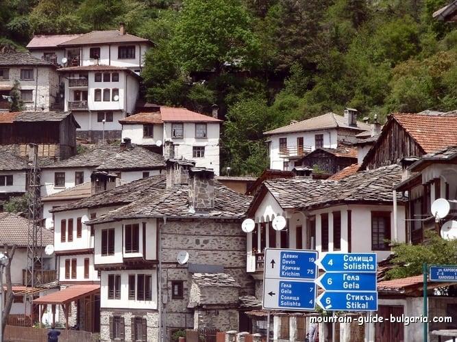 Shiroka Luka village in Rhodope Mountains