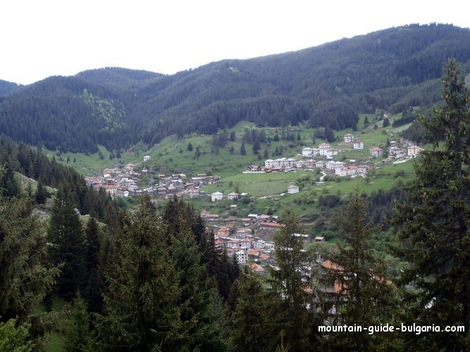 The village of Trigrad