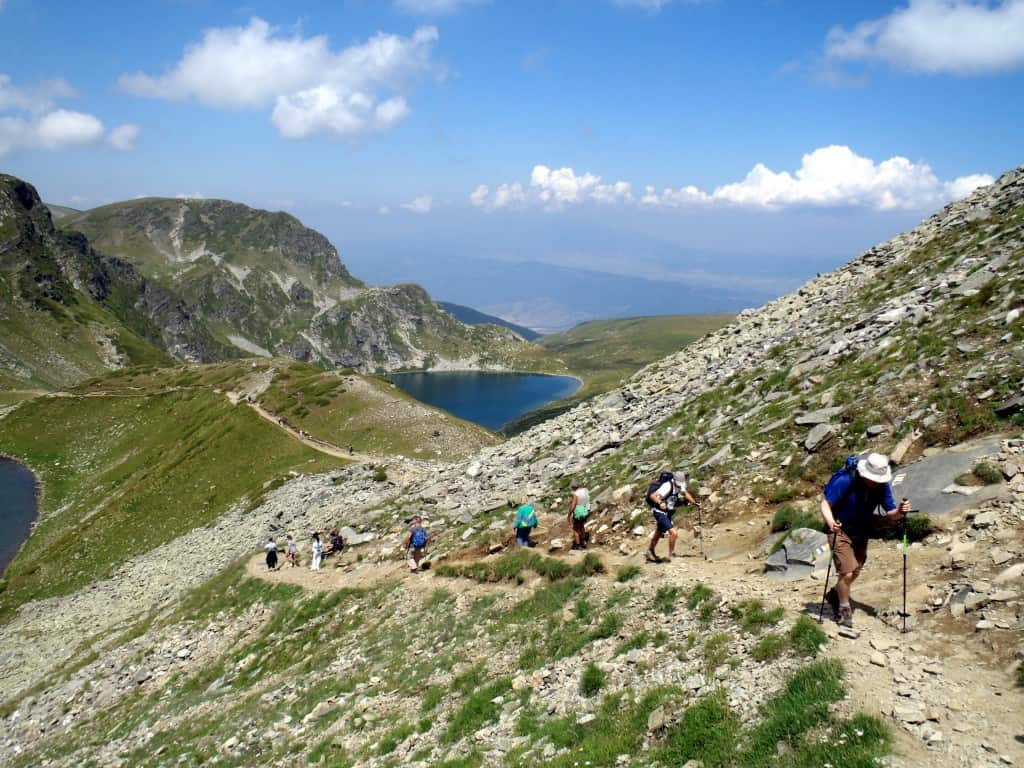 Hiking in Rila Mountains - the Seven Lakes
