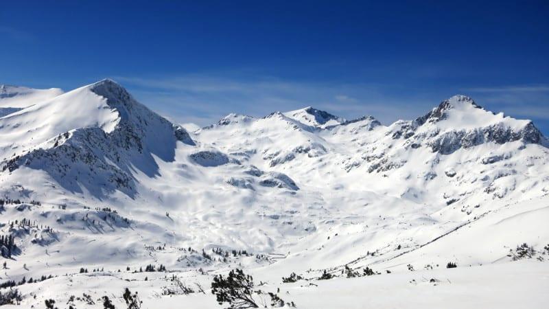 The views on the way to Bezbog, Pirin Mountains