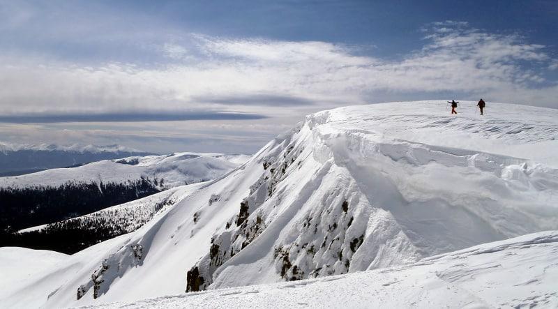 Snowshoeing the main ridge of Rila Mountains