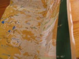 Ламинирана карта на Северен Пирин