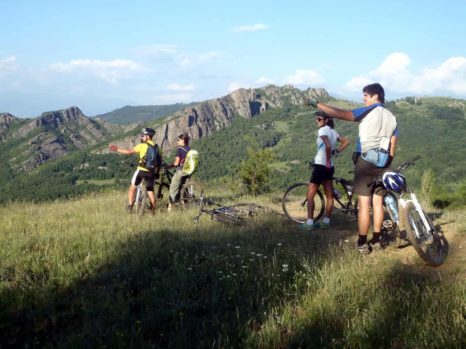 Mountain Biking in BG