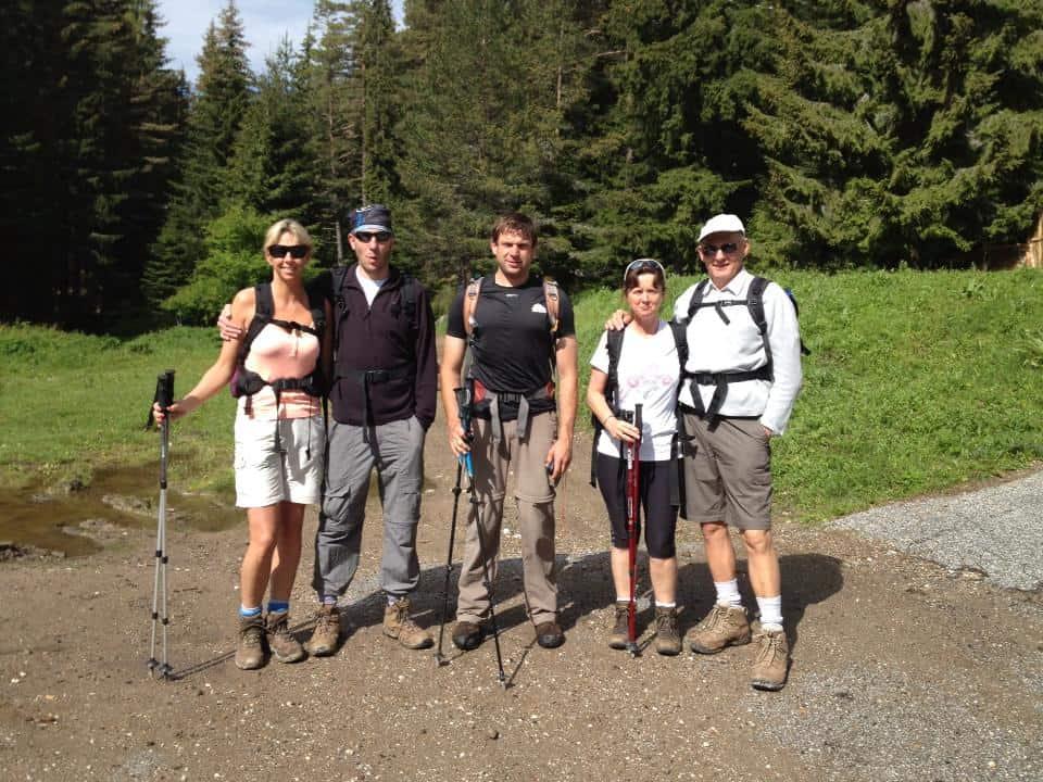 Hiking in Rhodopes