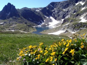The Seven Rila Lakes area