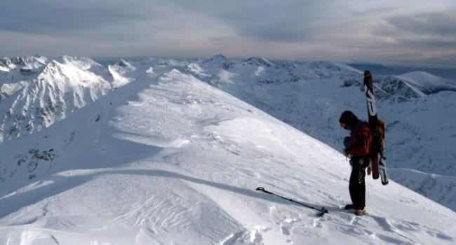 Lyuben Grancharov on top of Mount Vihren