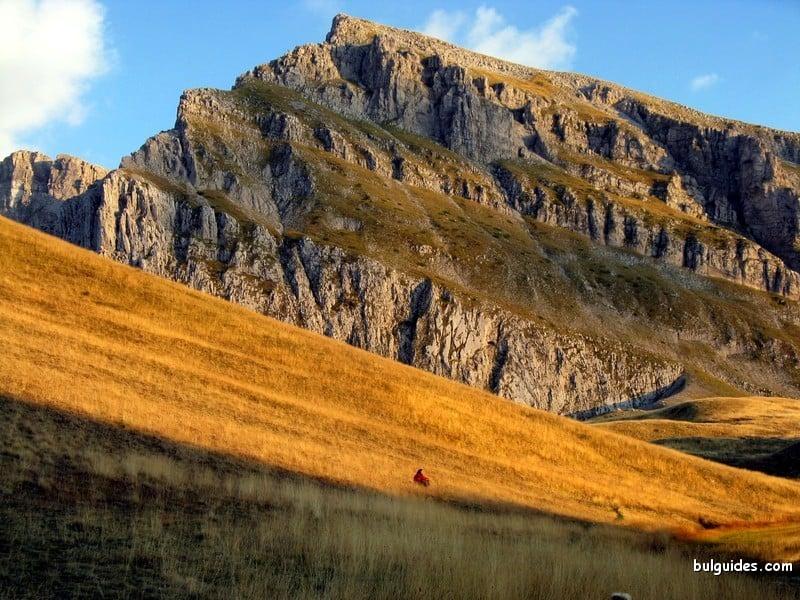 Timfi main ridge