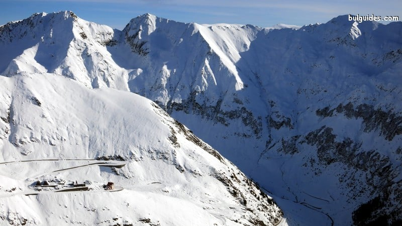 Transfagarash in winter
