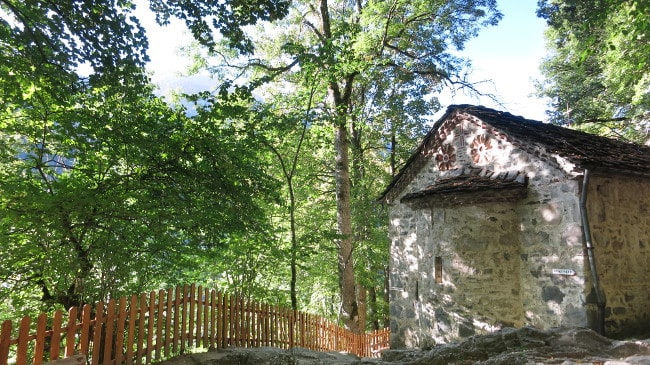 The chapel at the grave of Saint Ivan Rilski