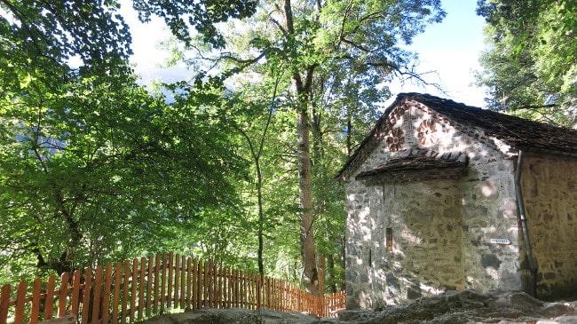 The chapel at the grave of Saint Ivan Rilski