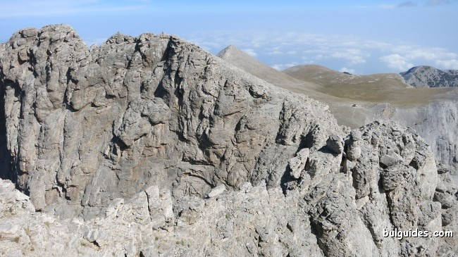 View toward Stefani from Mytikas
