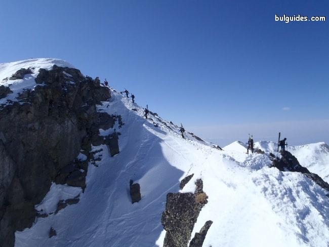 Ascending Mount Todorka, Pirin Mountains