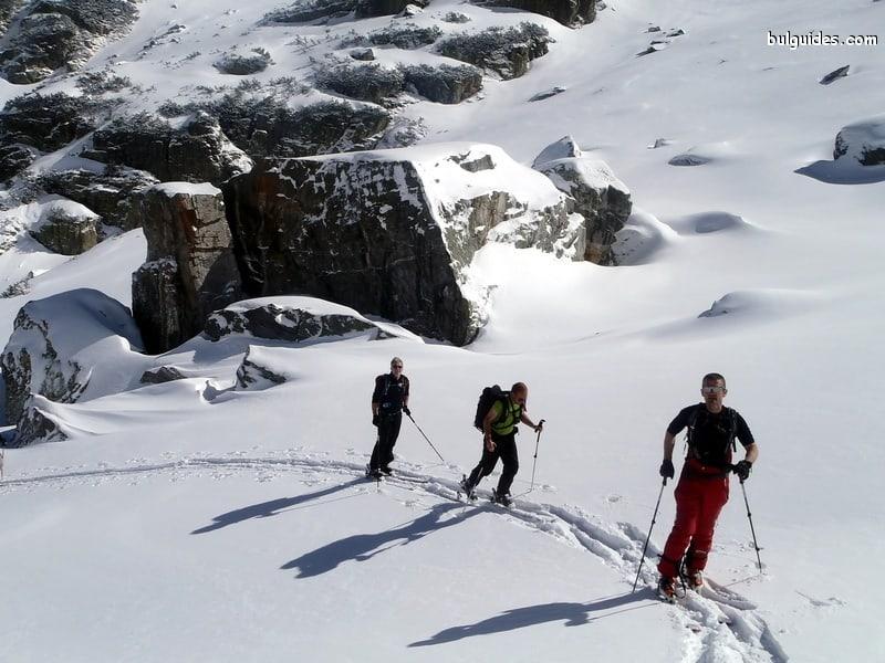 Ski Touring in Rila Mountains