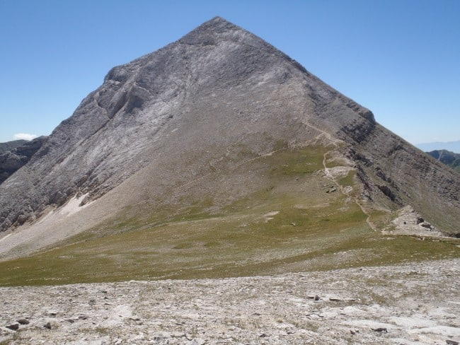 Mount Vihren in Pirin Mountains
