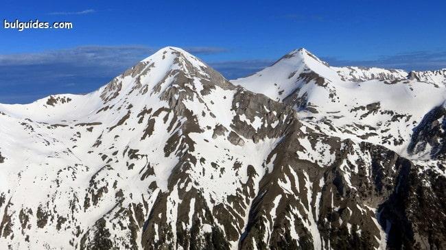 Mount Vihren (2914) the top of Pirin Mountains