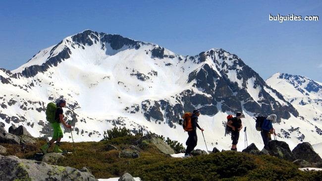 Mount Kametiza on the background
