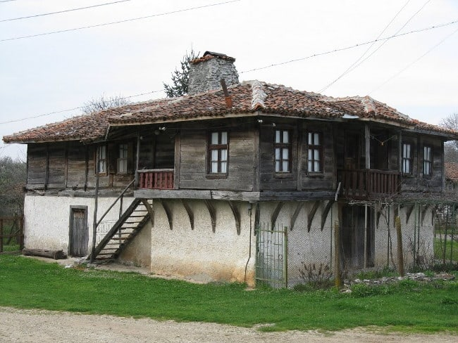 Old house in Strandza Mountains