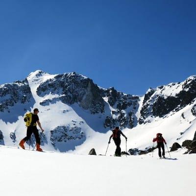 Ski touring Musala