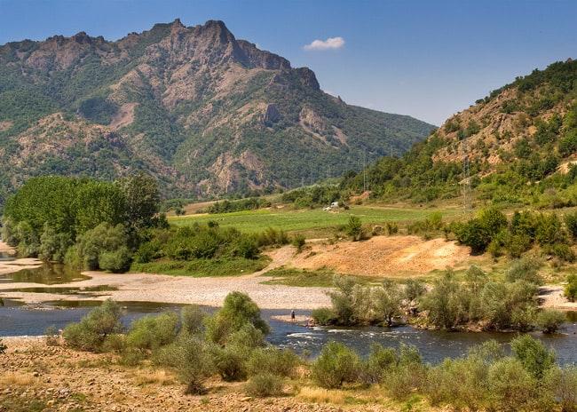 Arda River near Madhzarovo