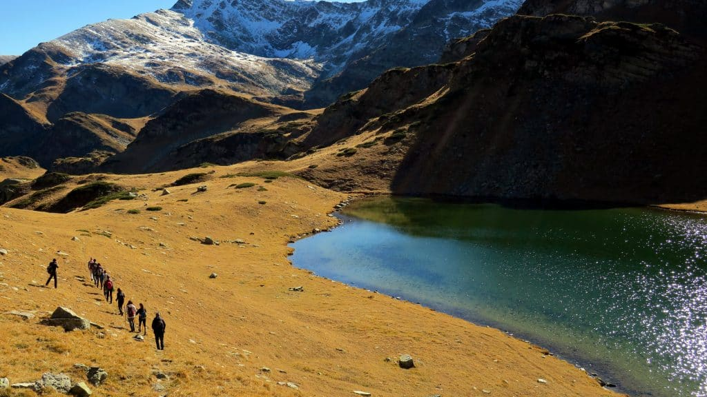 Walking in Rila in October - the Urdini Lakes Valley