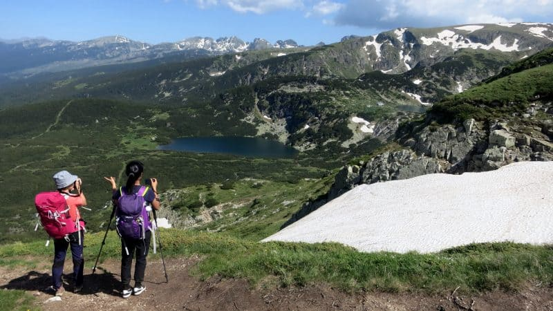 The Seven Rila Lakes in late June