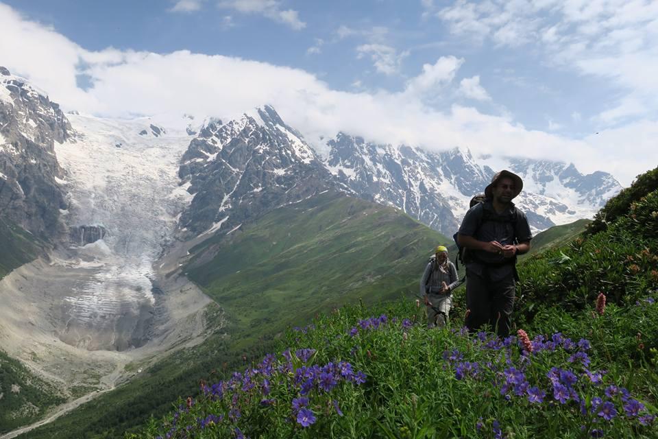Walking in the Caucasus Georgia