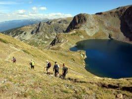 Hiking to the Seven Rila Lakes