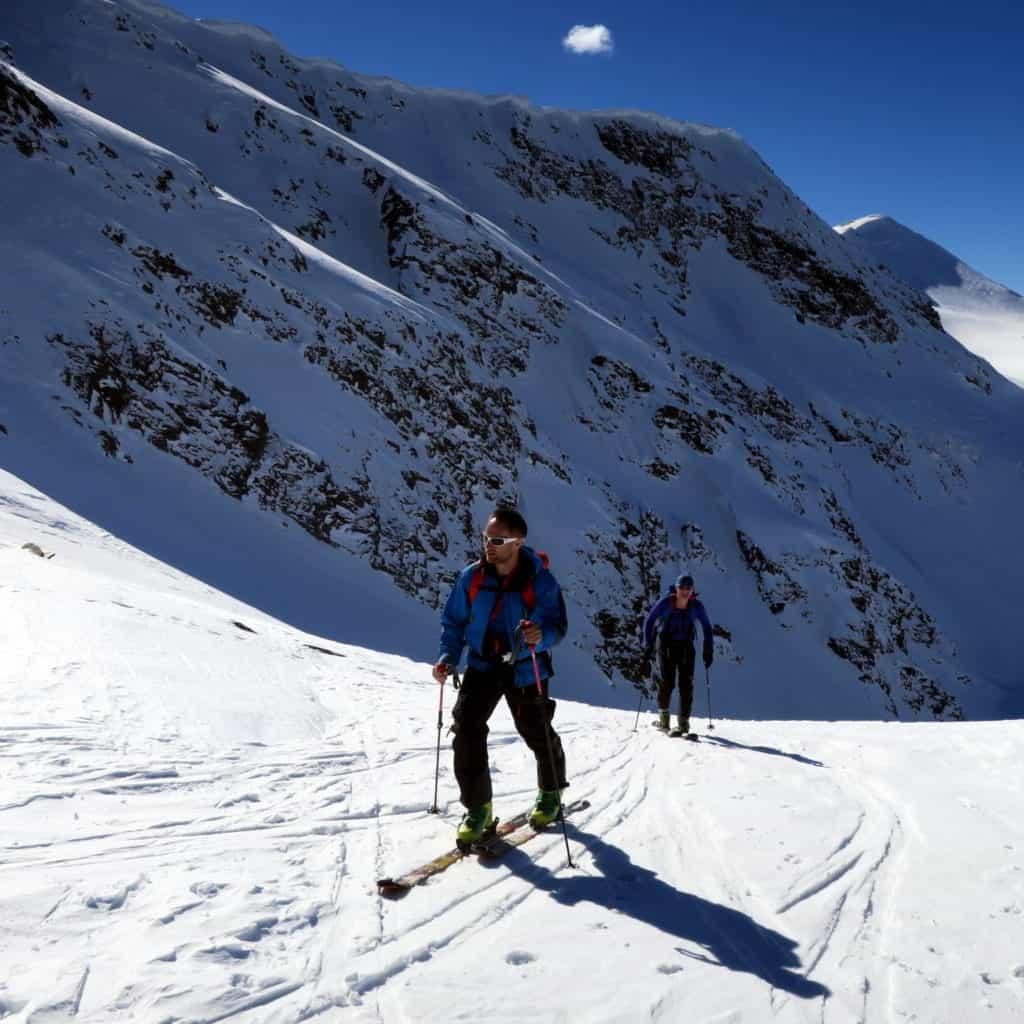 Ski touring Rila