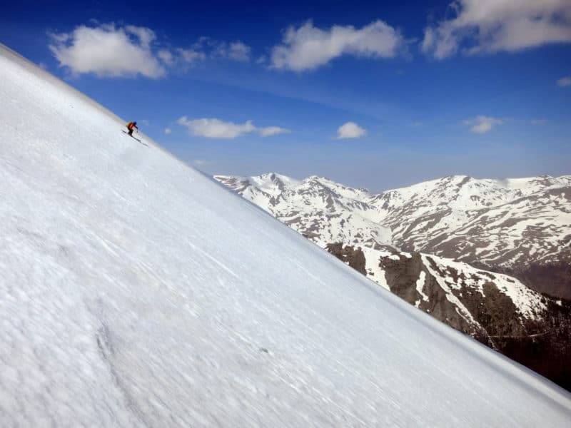Ski touring Kosovo and Macedonia