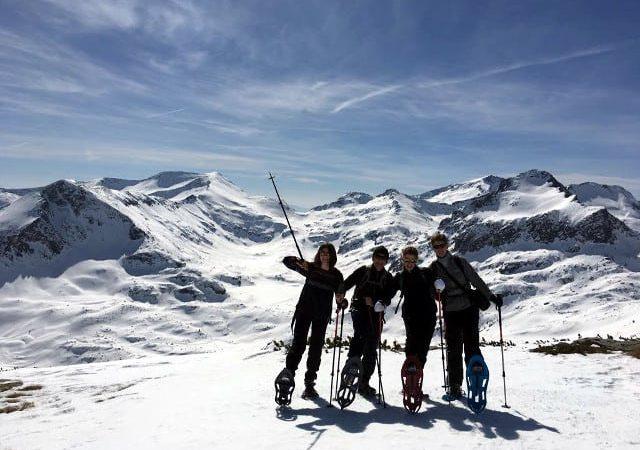 Snowshoeing in Pirin