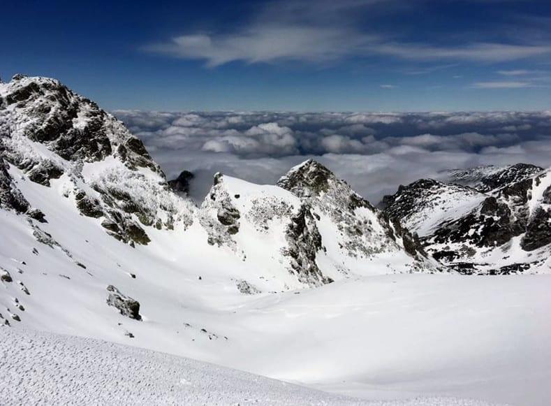 Malyovitsa snowshoeing