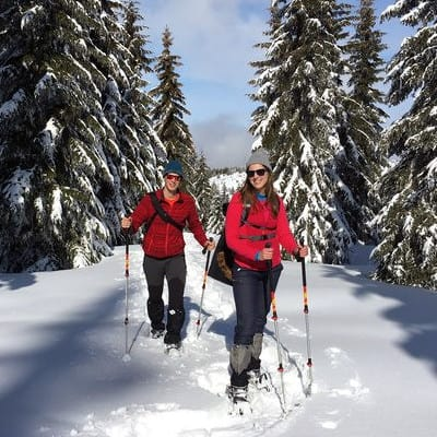 Snowshoeing Borovets