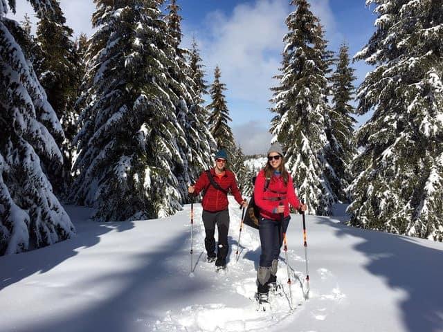 Snowshoeing Vitosha